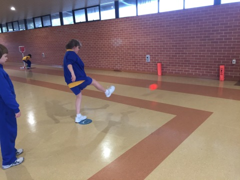European Handball Game Sense Lesson